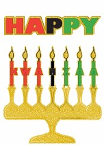 Kwanzaa Candles 1 - Kwanzaa Card