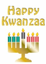 Kwanzaa Candles 2 - Kwanzaa Card